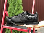 Женские кроссовки Nike Cortez (черные) 9798, фото 2