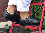 Женские кроссовки Nike Cortez (черные) 9798, фото 3