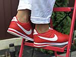 Женские кроссовки Nike Cortez (красные) 9799, фото 3
