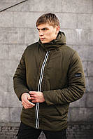Мужская демисезонная куртка хаки
