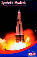 """Ракета """"Спутник"""". Сборная модель в масштабе 1/144. PARC MODELS 14401"""
