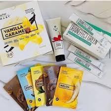 Набор для похудения : Energy Diet Smart  Mix 5 пакетиков саше Ассорти из 5 вкусов.+ DrainEffect + Горижоп