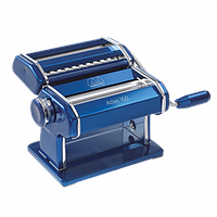 Тестораскатка - локшинорізка Marcato Atlas 150 Blu синя