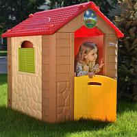 Дитячий ігровий будиночок,97*105*119 см, пластик, M 5397-13