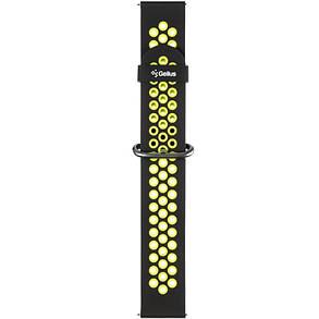 Ремешок для умных часов Gelius Pro GP-SW001 (NEO) Black/Green, фото 2