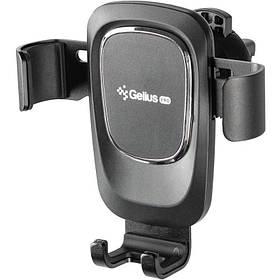 Автомобільний тримач для телефону Gelius GU-CH002 Black