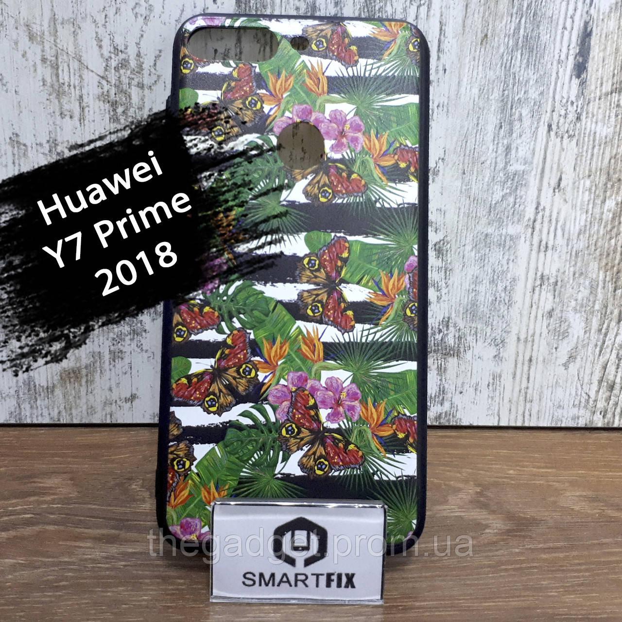 Чехол с рисунком для Huawei Y7 Prime (2018) / Honor 7C / Nova Lite (LDN-L21)