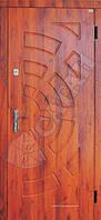 Дверь входная Саган 850х2030;950х2030 мм металл-МДФ №14