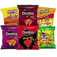 Мікс гострих чіпсів Doritos Cheetos D6шт