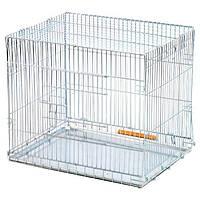 Клетка для собак и щенков раскладня переноска 63*50*53 см