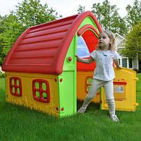 Дитячий ігровий будиночок пластиковий, 123*102*121 см, 72-984