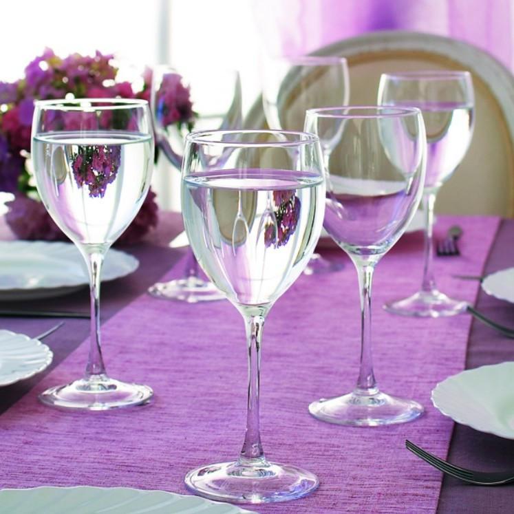 Набор бокалов для воды и вина Luminarc Signature 350 мл 6 шт (J0012)