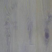 Паркетная доска 180мм Дуб Рустик Натур Селект трёхслойная КАРАМЕЛЬ СНЕЖНЫЙ масло-воск фаска, фото 1
