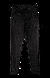 Детские брюки-джеггинсы для девочки *Джерси* (размеры 104-134. цвет черный, темно-серый), фото 2