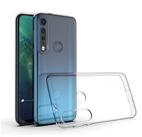 Ультратонкий 0,3 мм чехол для Motorola Moto G8 Plus прозрачный, фото 1