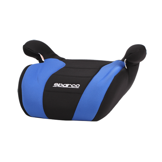 Бустер Sparco  з напрямляючою для ременя безпеки 2+3 (15-36кг) чорно-синій SP F100K-BK-BL