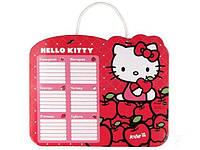 Расписание для уроков, твердо-ламинированный картон, Hello Kitty, HK14-145K