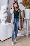 Жіночий стильний в'язаний кардиган акрил+шерсть розмір універсал 42-46, фото 8