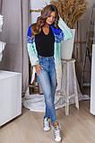Жіночий стильний в'язаний кардиган акрил+шерсть розмір універсал 42-46, фото 9