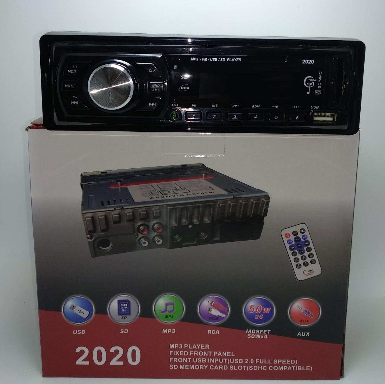 Автомагнитола MP3 2020,USB, SD, FM, AUX ,ПУЛЬТ