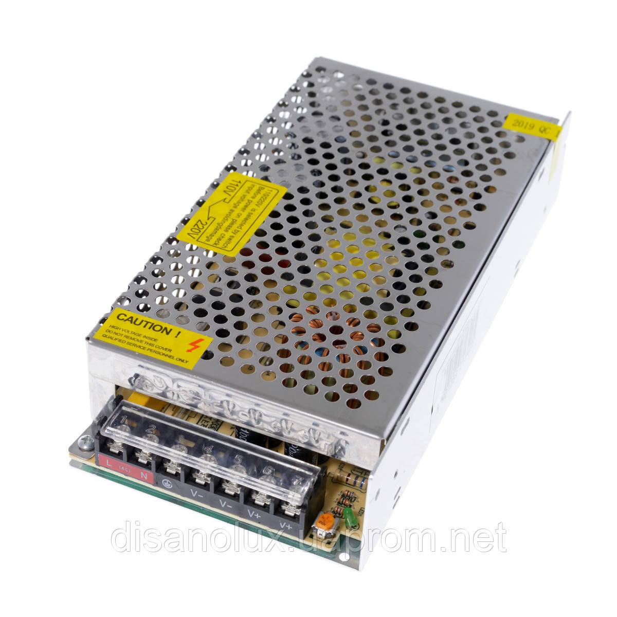 Блок питания DR-150W DC 12V 125A Output led
