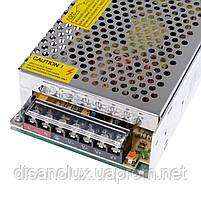 Блок питания DR-150W DC 12V 125A Output led, фото 4