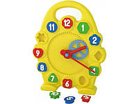 Развивающая игрушка для малышей Часы 3046 Технок