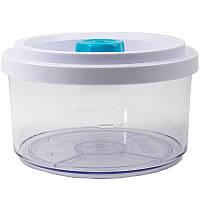Вакуумный контейнер Wartmann круглый, 0.6 литра