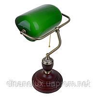 Настольная лампа банковская зеленая MTL-54 E27 VNG, фото 2