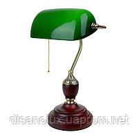 Настольная лампа банковская зеленая MTL-54 E27 VNG, фото 3