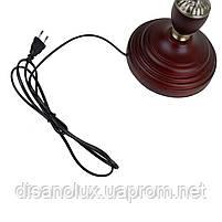 Настольная лампа банковская зеленая MTL-54 E27 VNG, фото 5