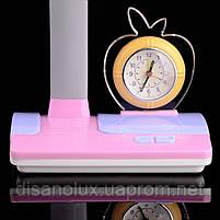 Настольная лампа для детской с часами TP-013 PN, фото 2