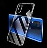 Ультратонкий 0,3 мм чехол для Motorola Moto E6S прозрачный