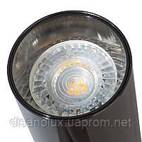 Светильник трековый поворотный KW-29 GU10 BK/CH, фото 5