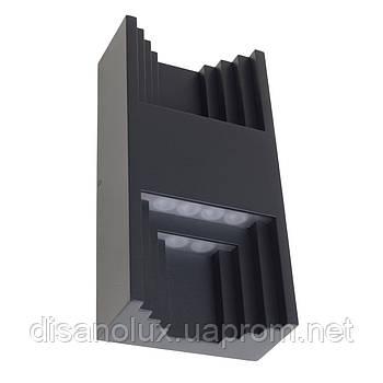 Подсветка светодиодная фасадная IP54 AL-285/13W NW BK