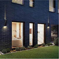 Подсветка LED светодиодная фасадная IP54 AL-286/6W CW BK, фото 4