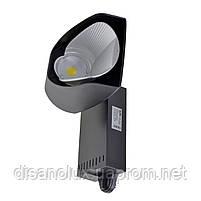 Светильник трековый поворотный LED светодиодный KW-227/40W NW BK, фото 2