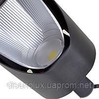 Светильник трековый поворотный LED светодиодный KW-227/40W NW BK, фото 5