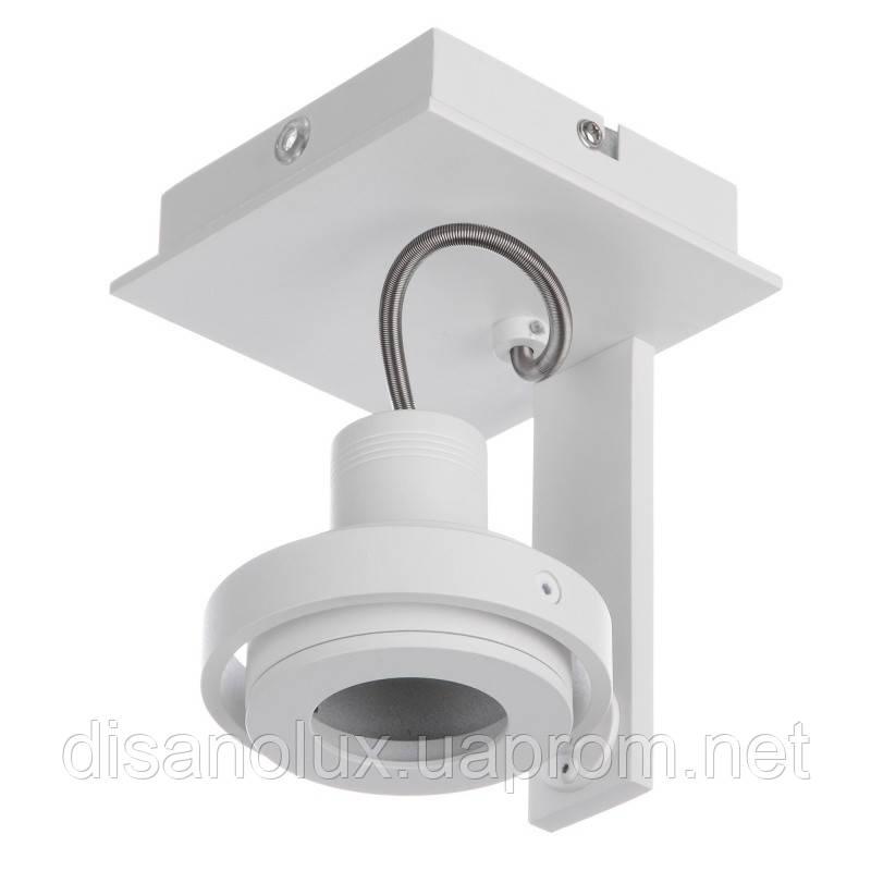 Подсветка накладная поворотная для офиса MS-07/1 GU10 SWH