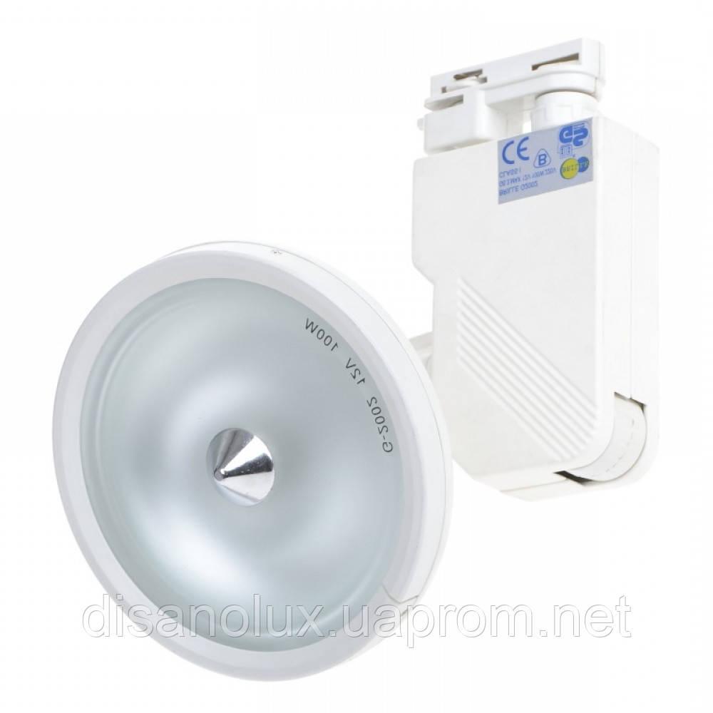 Светильник трековый поворотный под лампу HDL-11-20W