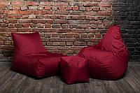 Набор Бордо (Кресло мешок груша пуф)