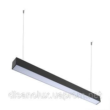 Система линейная LED подвесная FLF-80 40W NW BK 1,2m