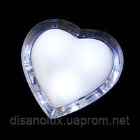Светильник ночной в современном стиле декоративная сердечко LED-64, фото 3