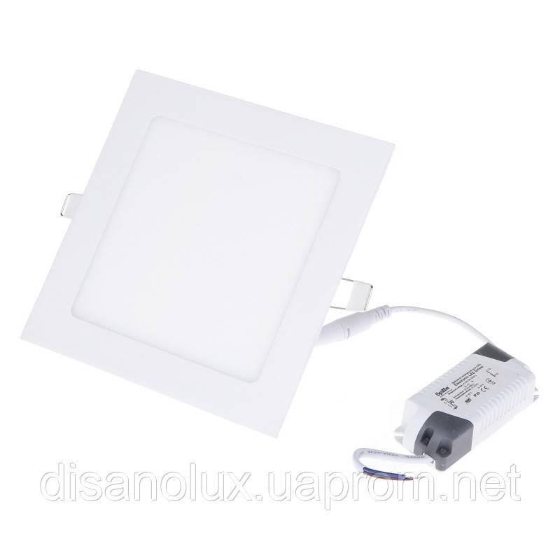 Светильник потолочный встроенный светодиодный LED-37/12W WW led
