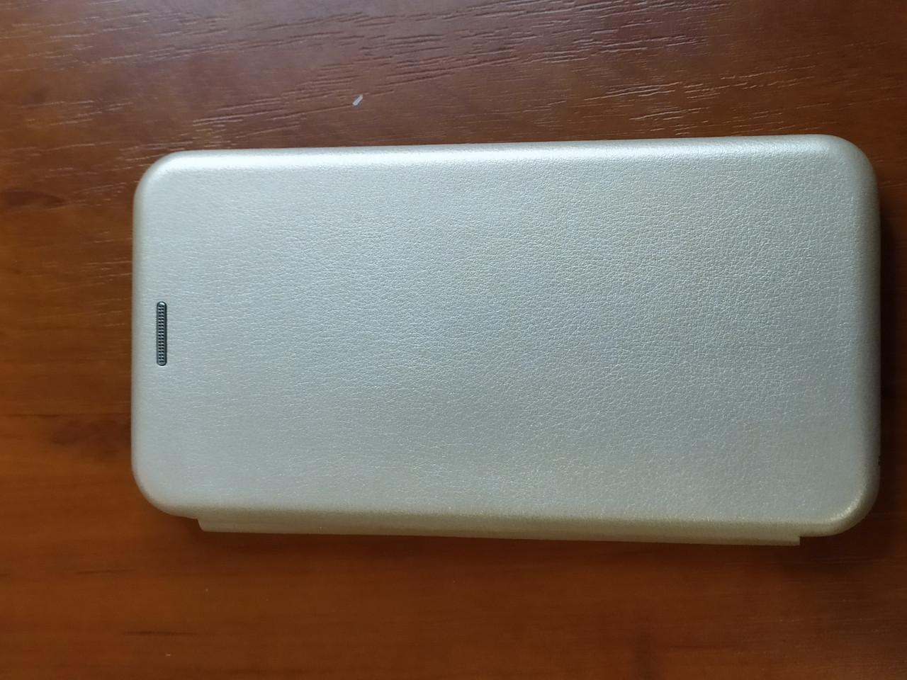 Чохол - книга Premium для Xiaomi Redmi Note 8T (золотистий)