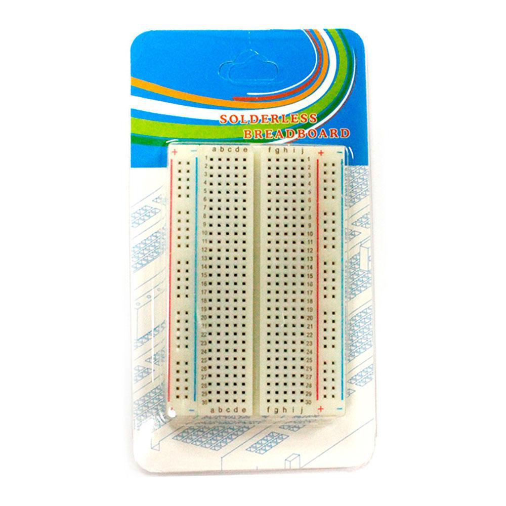 Макетная плата 400 точек для Arduino MB 102 (Беспаечная)