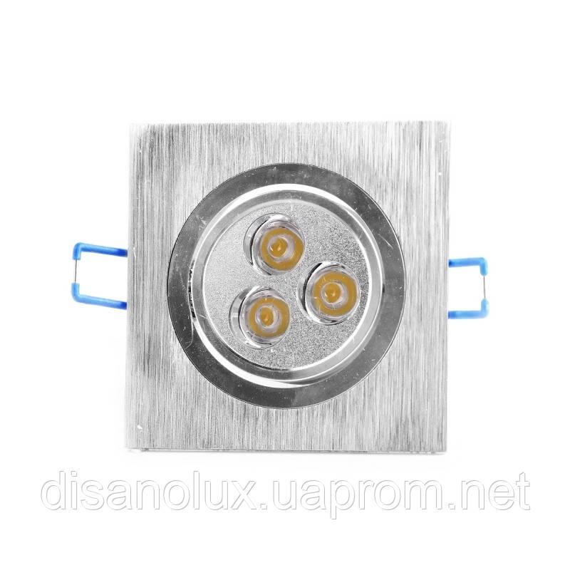 Светильник точечный LED-104/3W BA