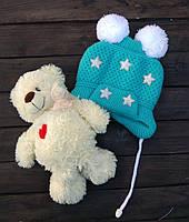 Шапка дитяча зірки (PINK ICE market)