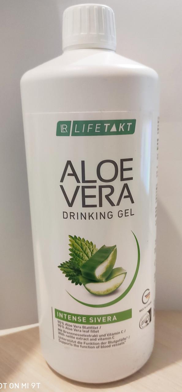 Алоэ Вера питьевой гель Сивера с экстрактом крапивы, LR, 1 литр