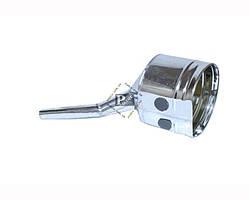 Лейка для топлива ВАЗ 2108-099, под клапан, металл с латунной сеткой